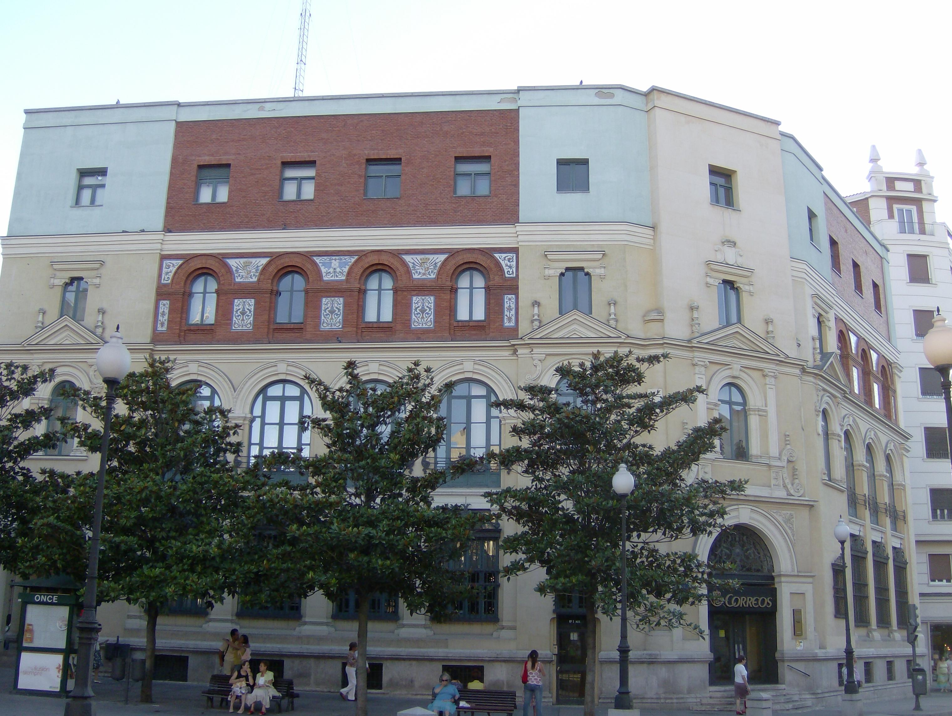 Palacio de correos y tel grafos valladolid wikiwand for Oficina de correos valladolid