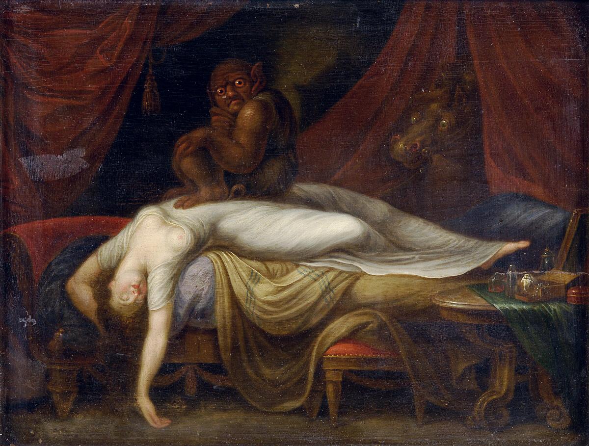 Gemälde: Der Albtraum