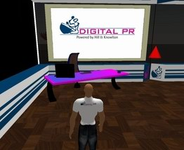 Oficina de Digital PR en Second Life