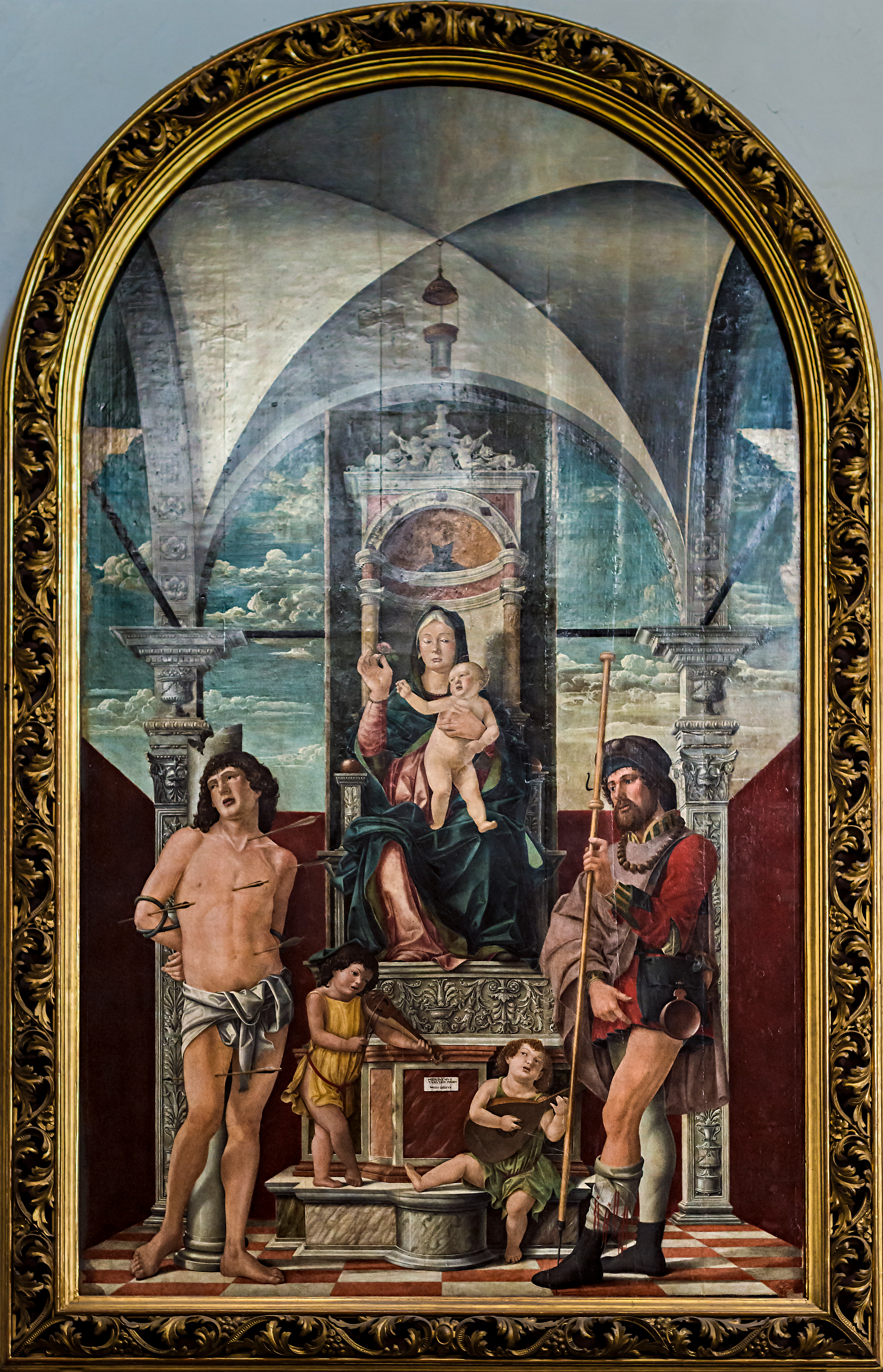 Madonna del fiore di Girolamo da Treviso