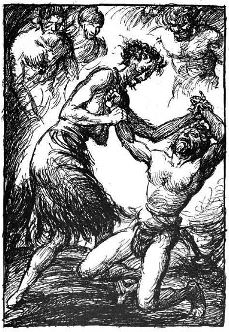 describe the relationship between grendel and his mother