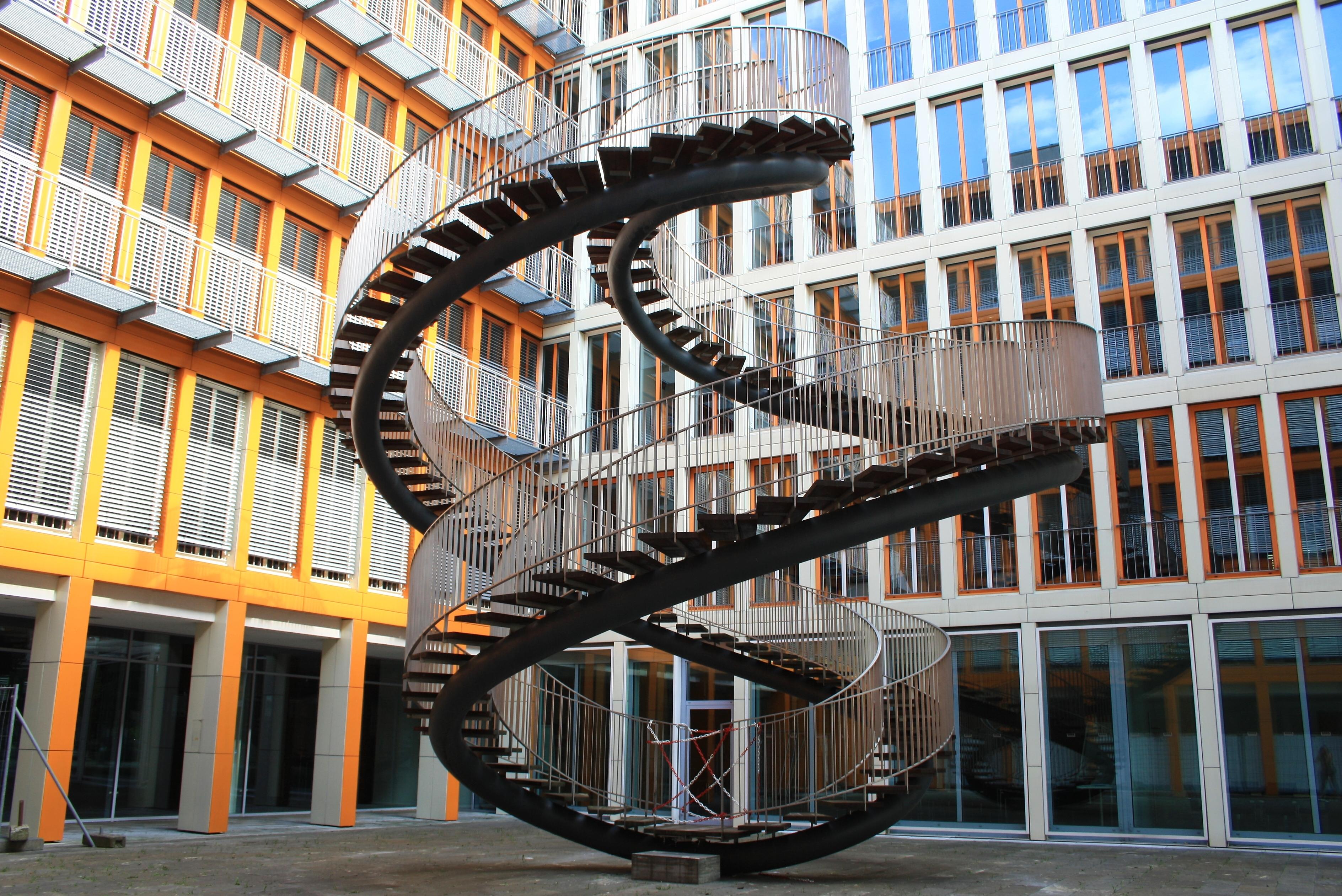 Treppen München file endlose treppe bei kpmg in münchen jpg wikimedia commons