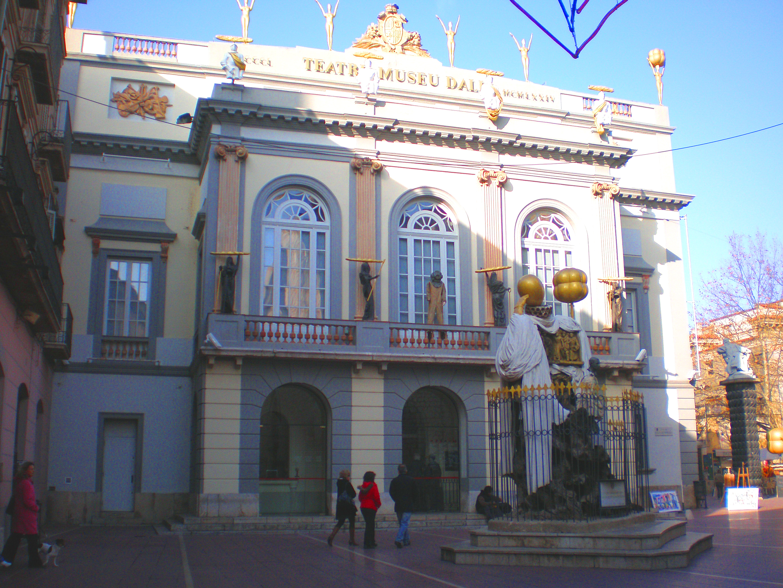 Museo Dali Figueres.File Fachada Del Teatro Museo Dali De Figueres Girona Espana