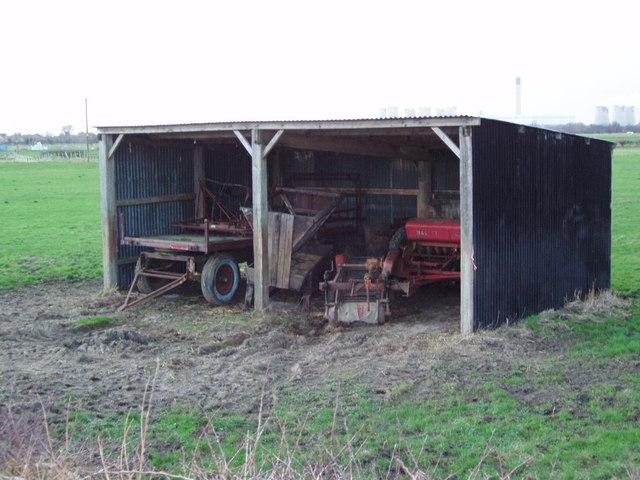 farm machine sheds