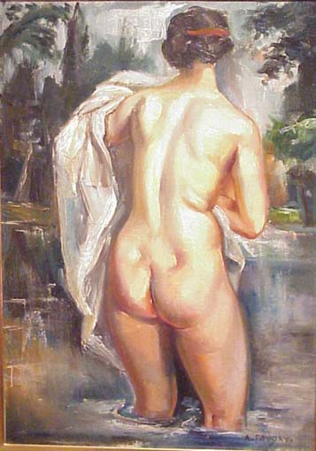 Favory - Bathing nude