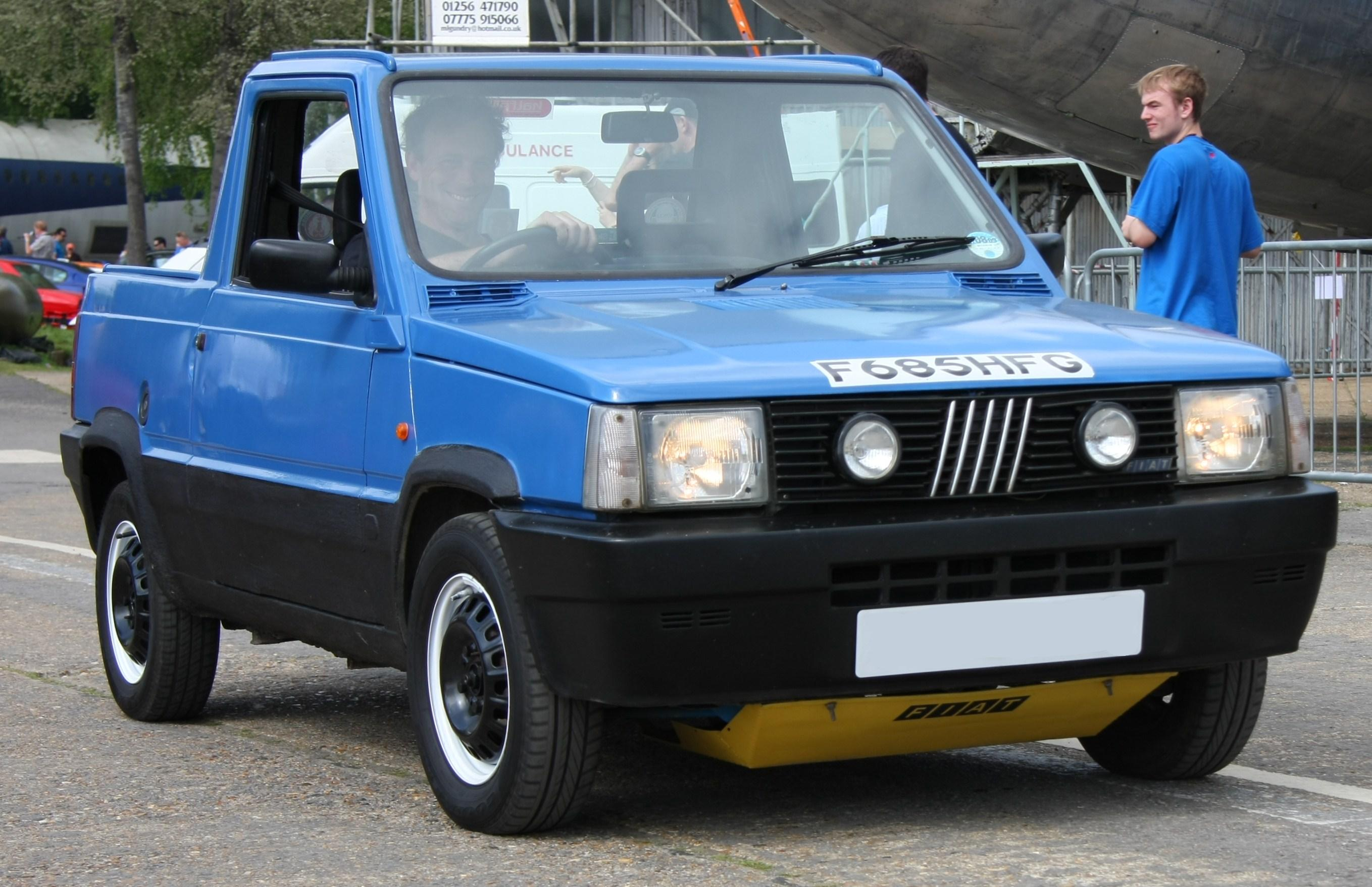 Fiat 4x4 Pick Up Lifestyle Trends