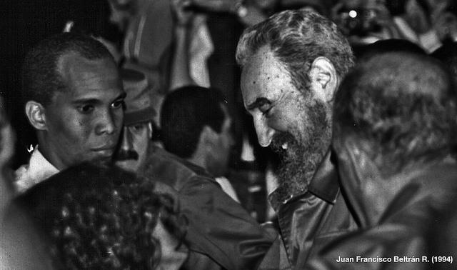 Fidel Castro Ruz en La Habana, Cuba, noviembre de 1994.
