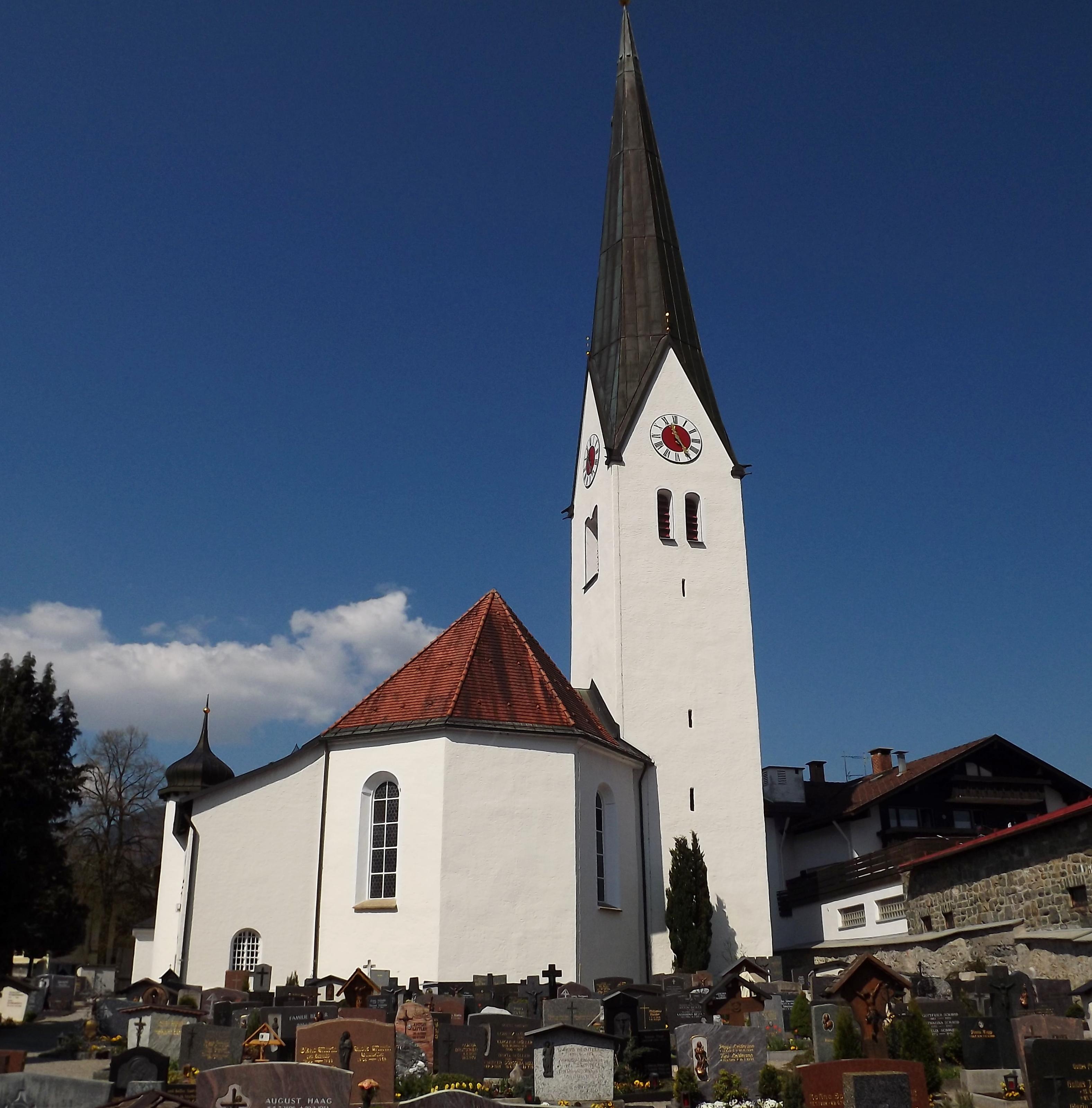 Fischen I Allgäu: St. Verena Fischen I.Allgäu