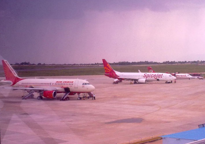 Flights at Madurai airport