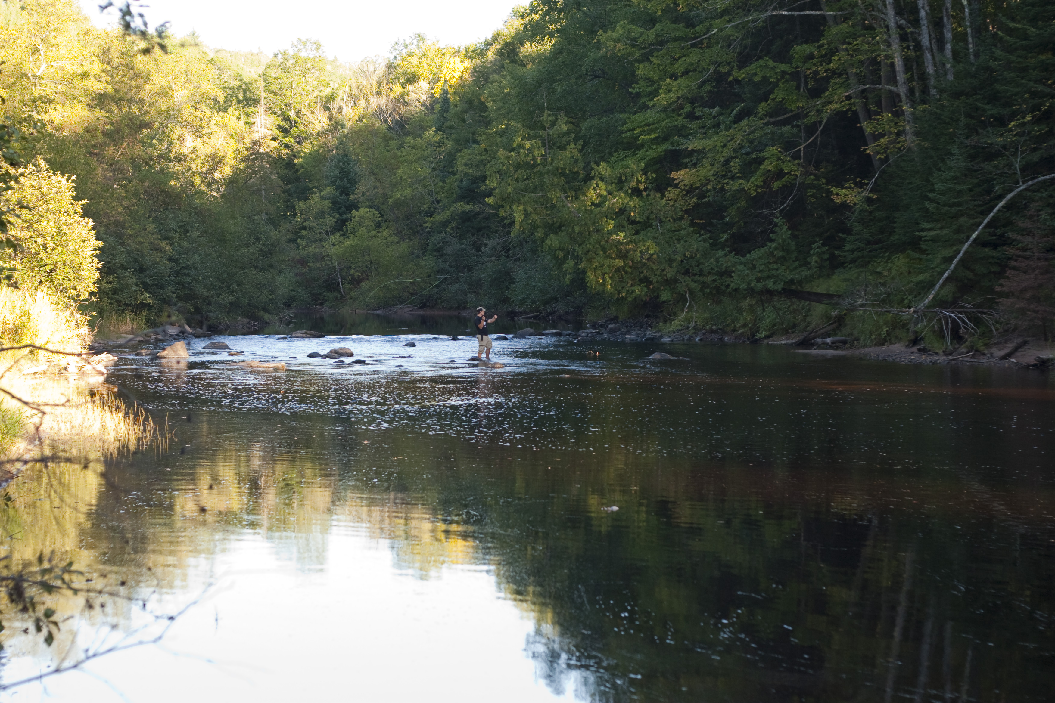 Image gallery sturgeon river for Fishing in michigan
