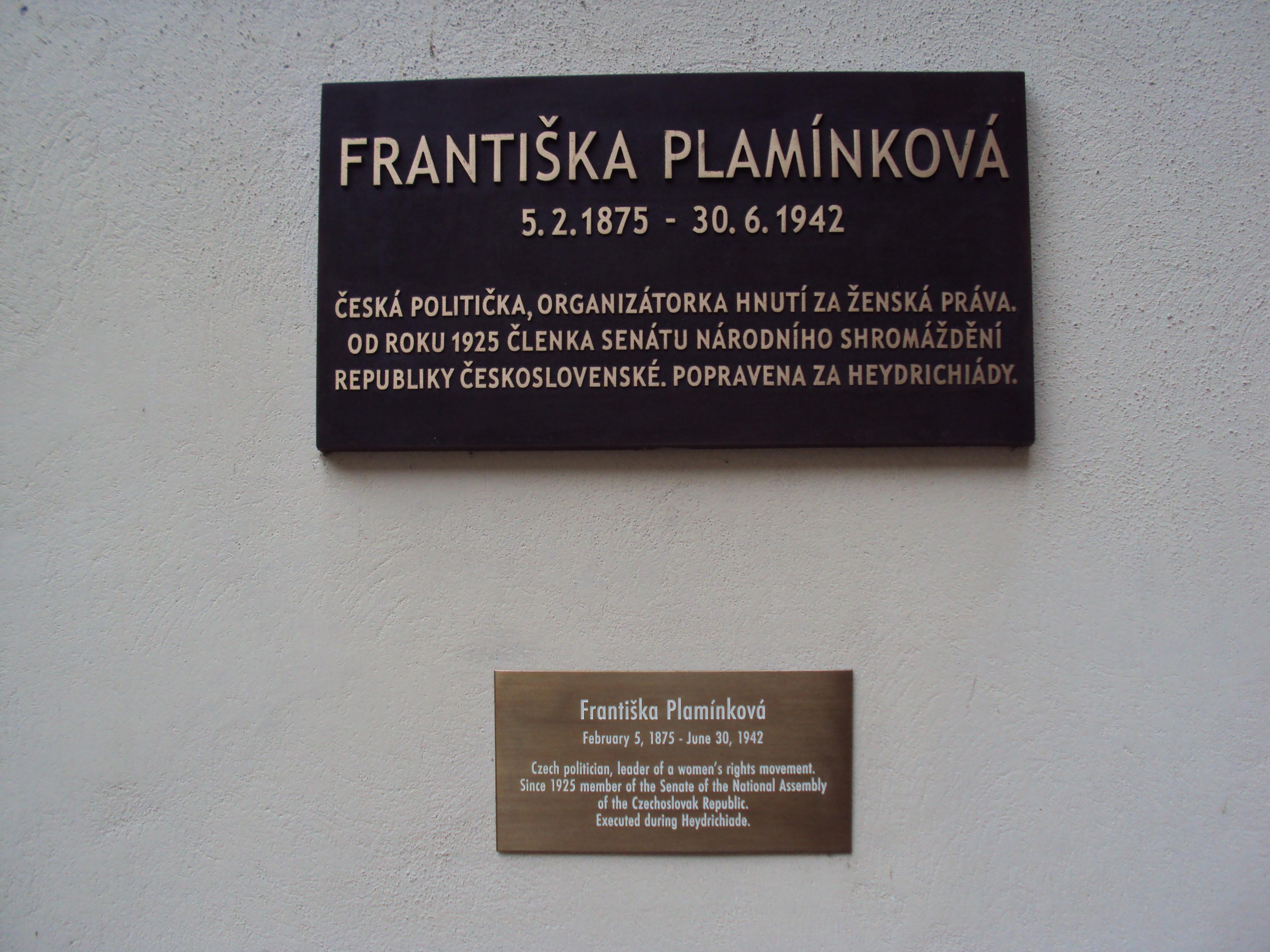 Františka Plamínková