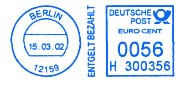 Germany stamp type RB31.jpg