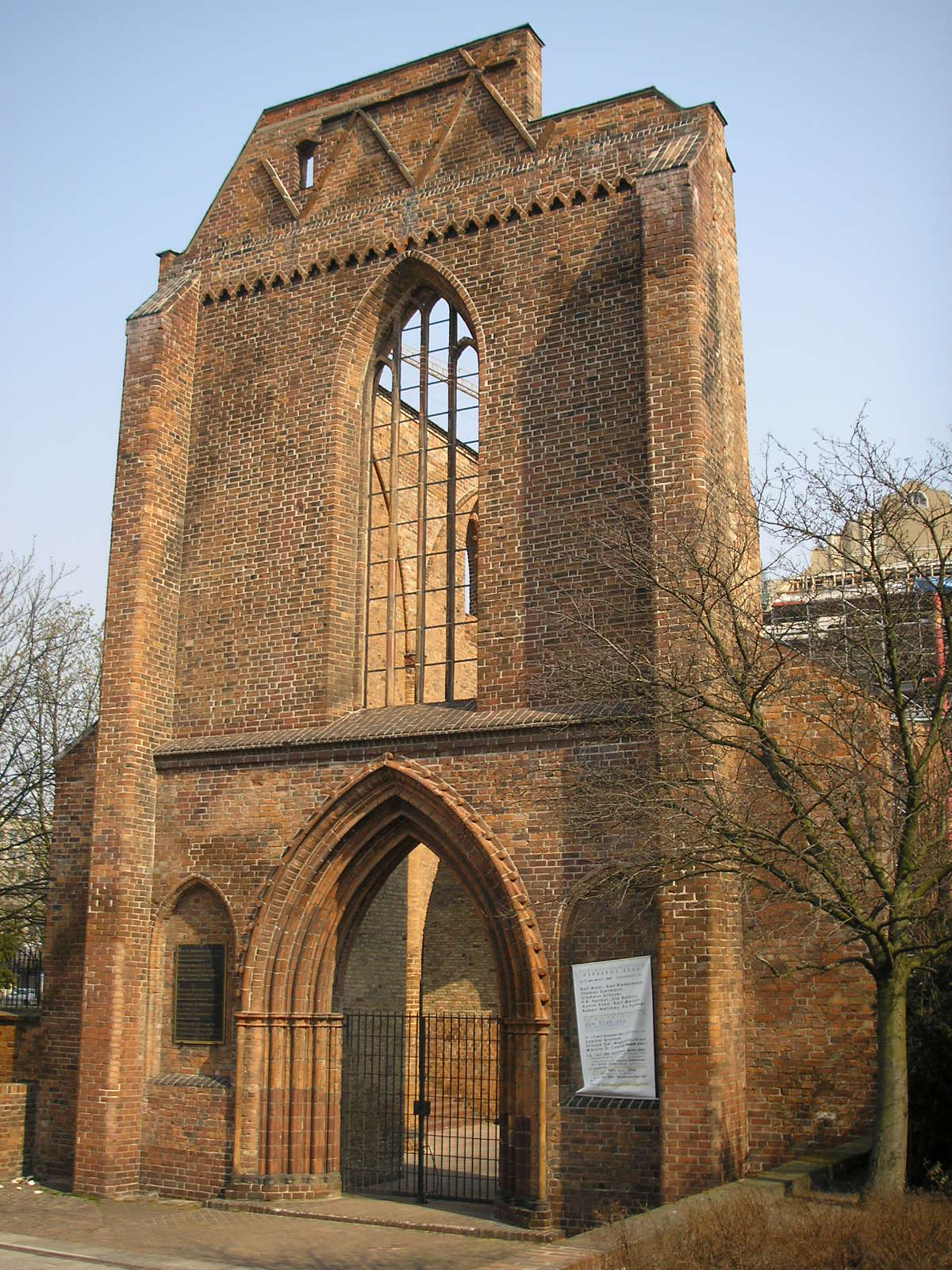Mosteiro Franciscano, um dos prédios mais antigos de Berlim
