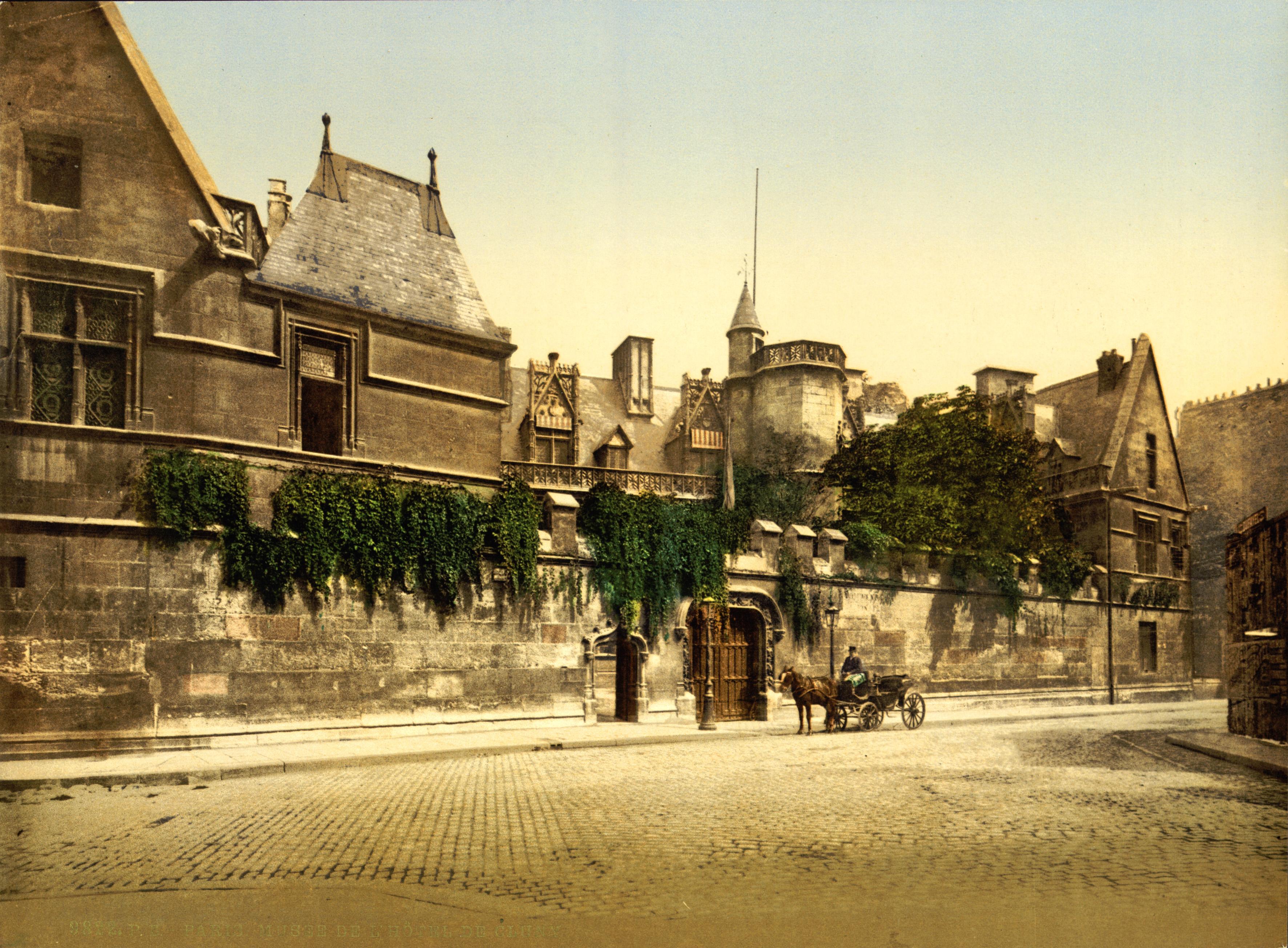 De cluny musée national du moyen âge paris france 1890s