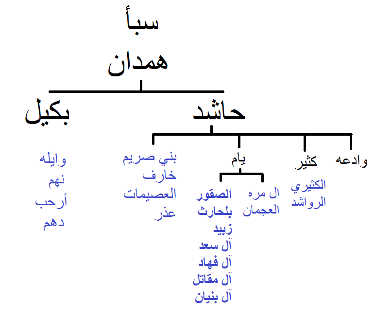 كتاب انساب قبائل اليمن