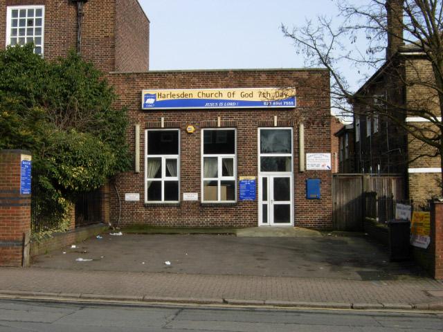 File:Harlesden Church of God 7th Day - geograph org uk