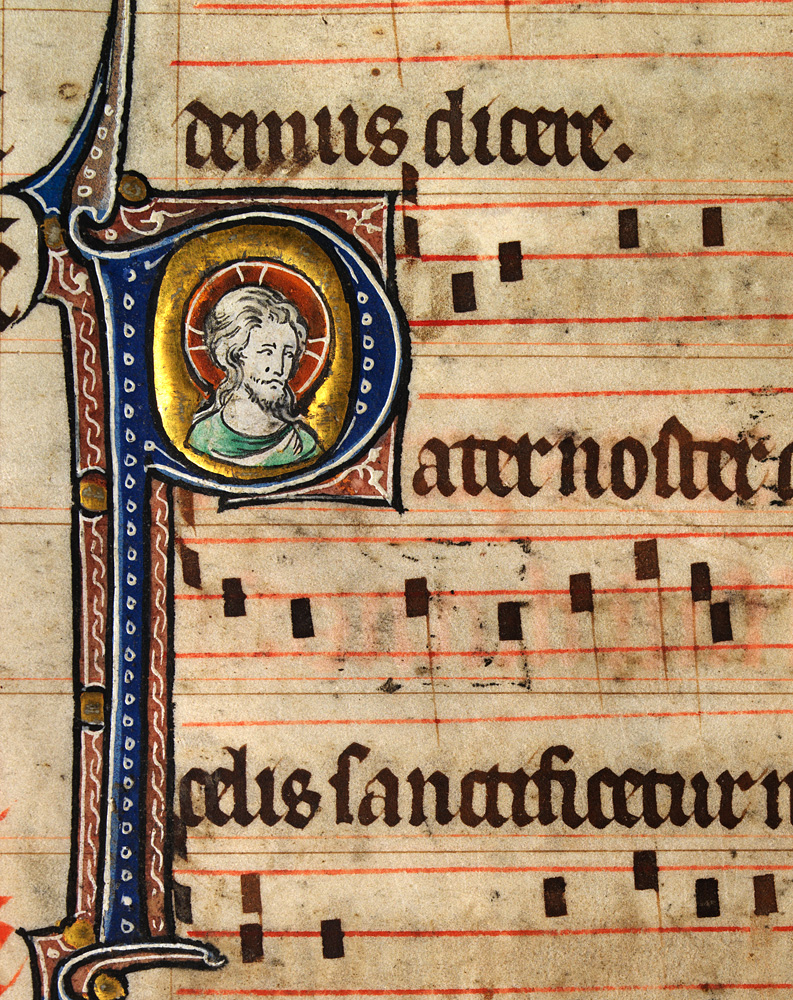 Trace the development of church music from the middle ages through the baroque period
