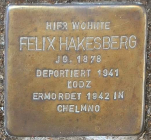 Hofgeismar-Stolperstein-Felix-Hakesberg-CTH.JPG