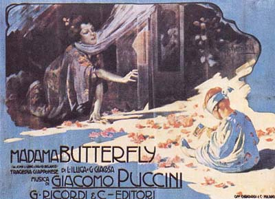 Depiction of Madama Butterfly