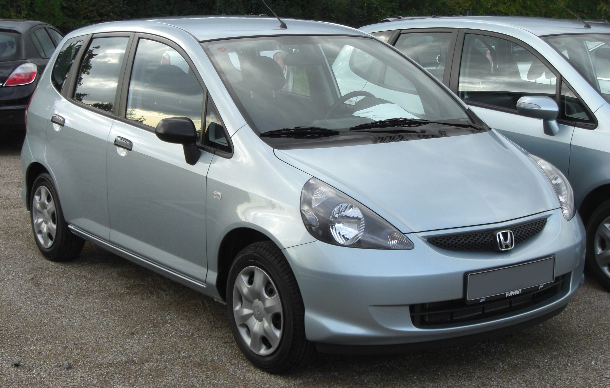 File Honda Jazz Ii Facelift Front Jpg Wikimedia Commons
