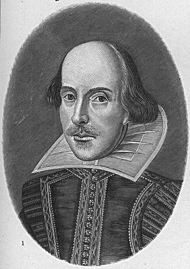 William Shakespeare - the inspiration for Darth Vader?