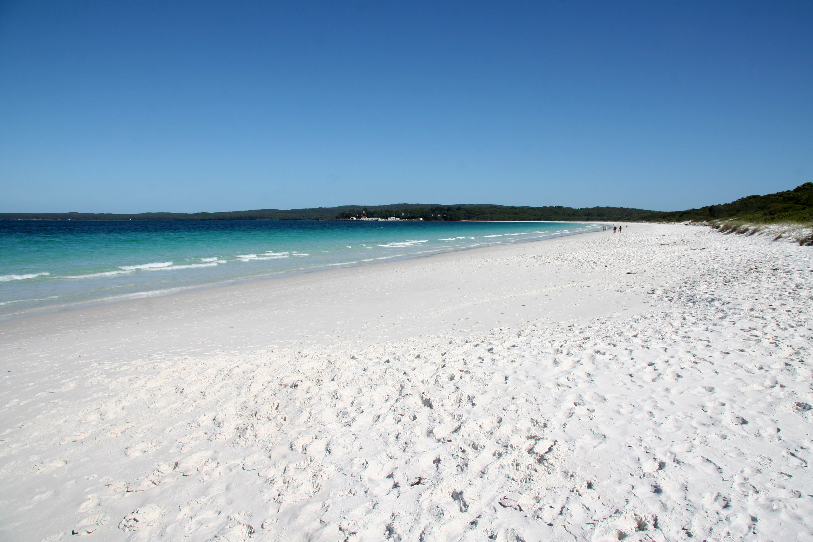 Hyams Beach By Dave Naithani (Own work) [CC-BY-SA-3.0 (http://creativecommons.org/licenses/by-sa/3.0)], via Wikimedia Commons