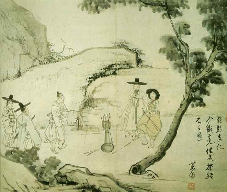 NAM DANH HỌA HYEWON SHIN YUN BOK Hyewon-Imha.tuho-01