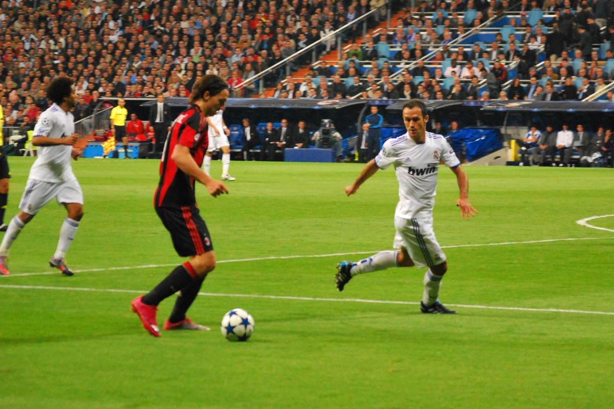 Zlatan blev irlandsk for en traning