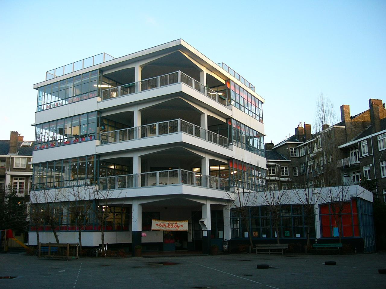 File johannes duiker open air school 1930 2627656346 for B b amsterdam
