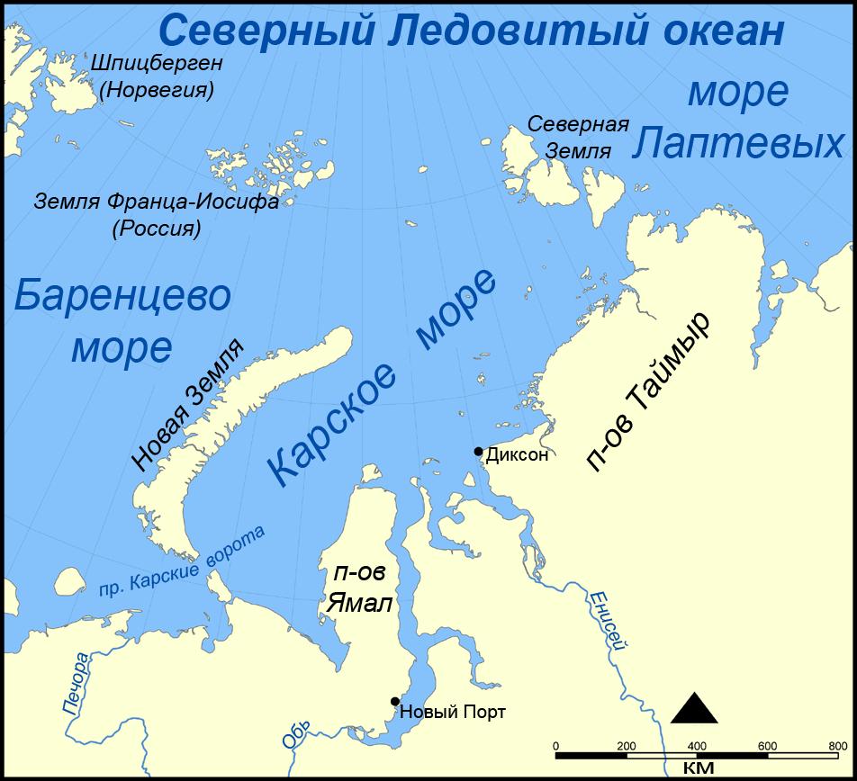 File:Kara Sea map RU.png - Wikimedia Commons