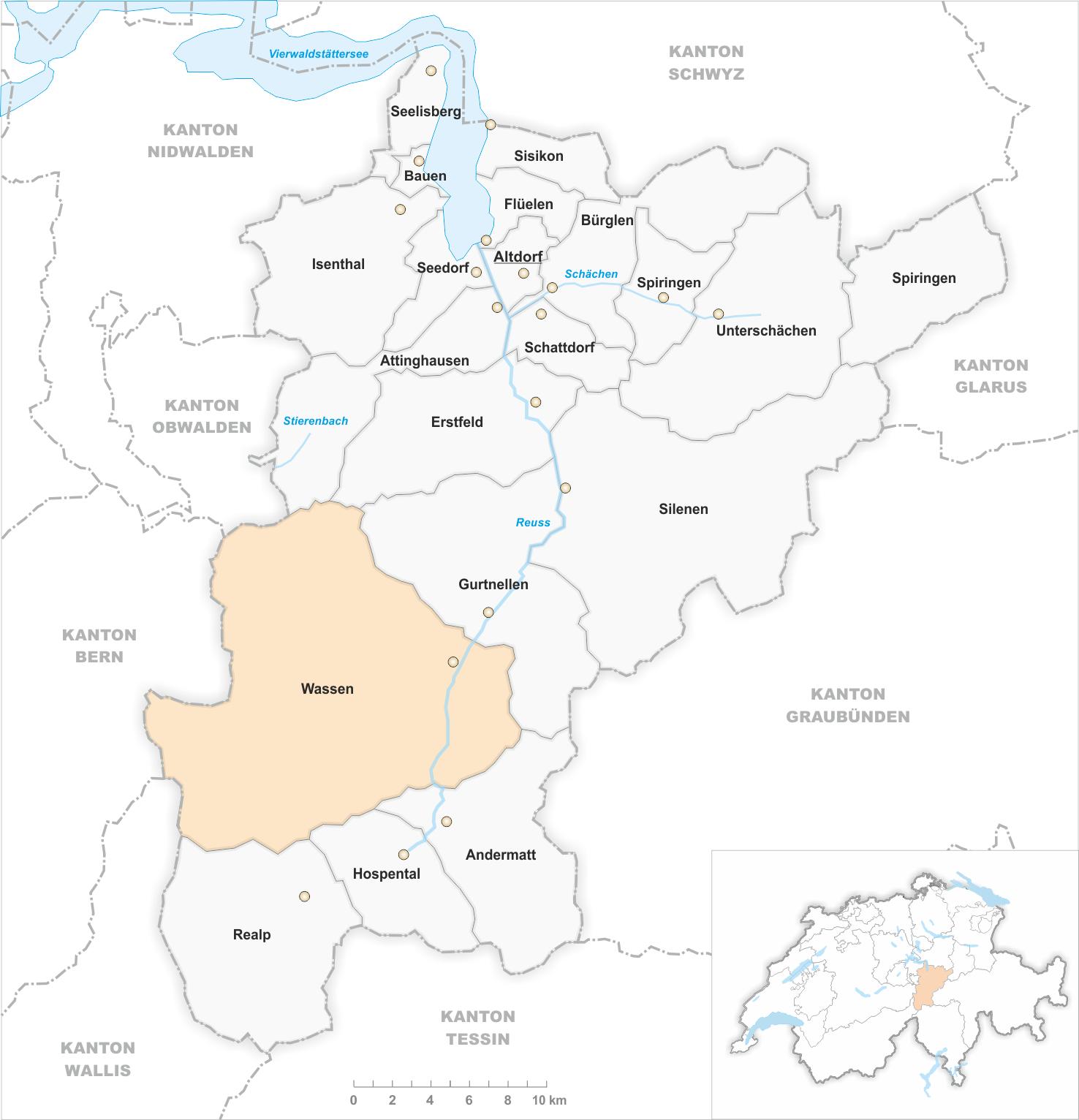 FileKarte Kanton Uri Gemeindeveraenderungen 1875png Wikimedia