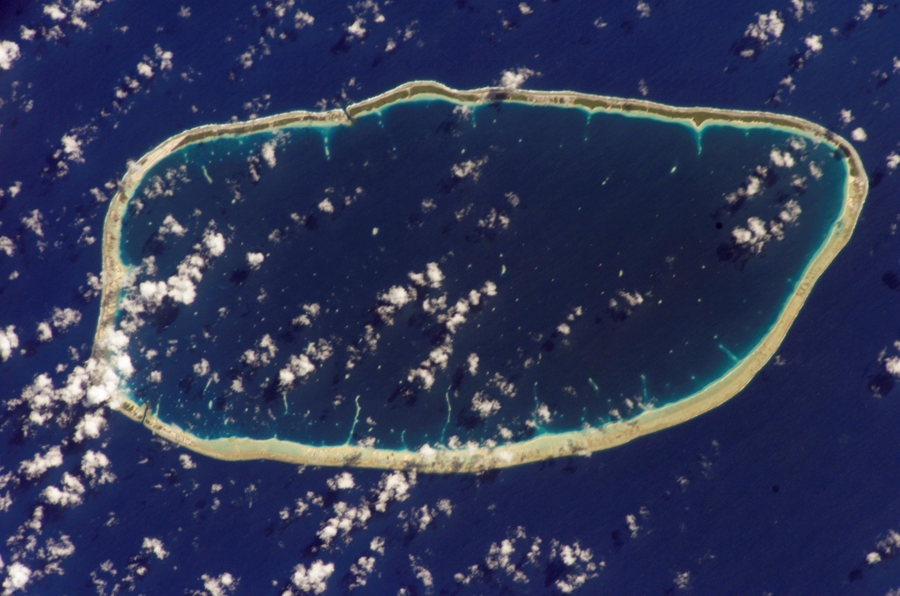Atoll de tuamotu
