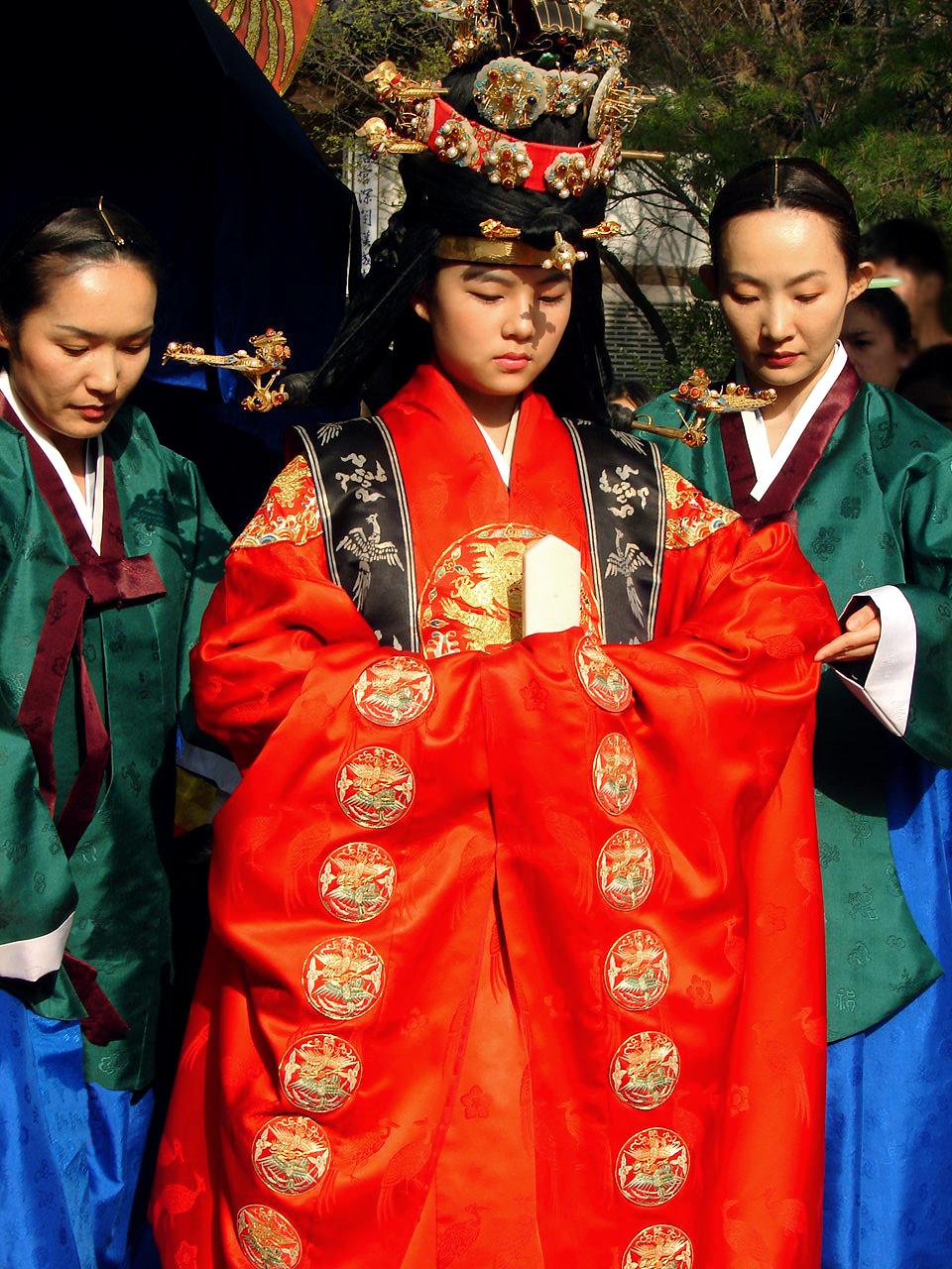 Dèskripsi Korea-Seoul-Royal wedding ceremony 1334-06.JPG