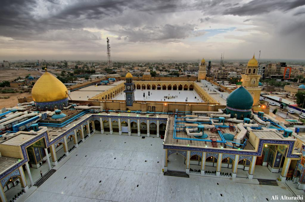 an najaf muslim View images and find out more about iraqis recover from najaf clashes at  iraq's shiite muslim authority reaffirmed its opposition to armed resistance to us-led.