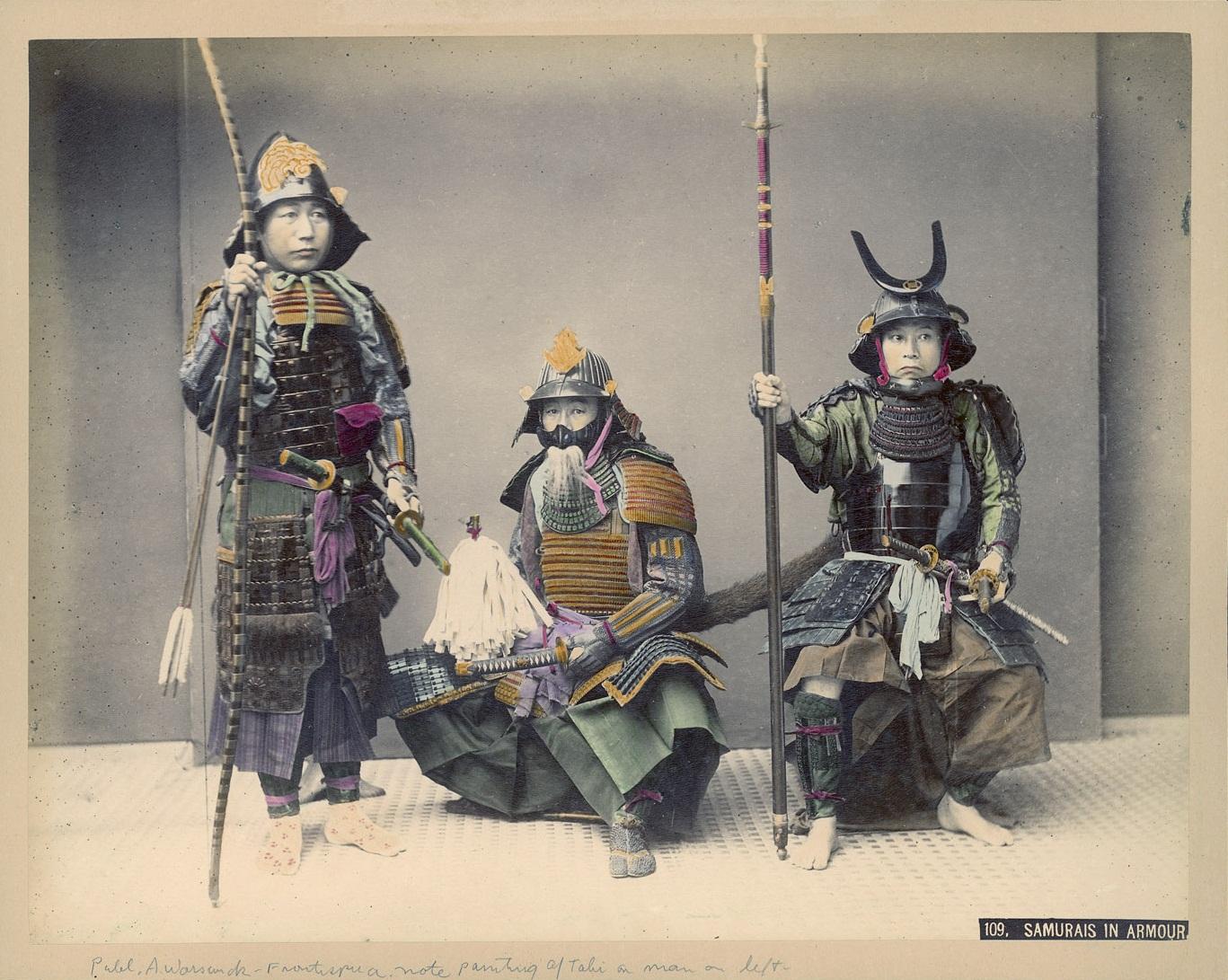 File Kusakabe Kimbei 109 Samurais In Wikimedia Commons