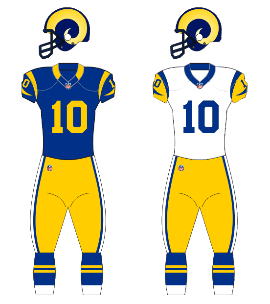 half off 0cb17 a8fc5 History of the Los Angeles Rams - Wikipedia