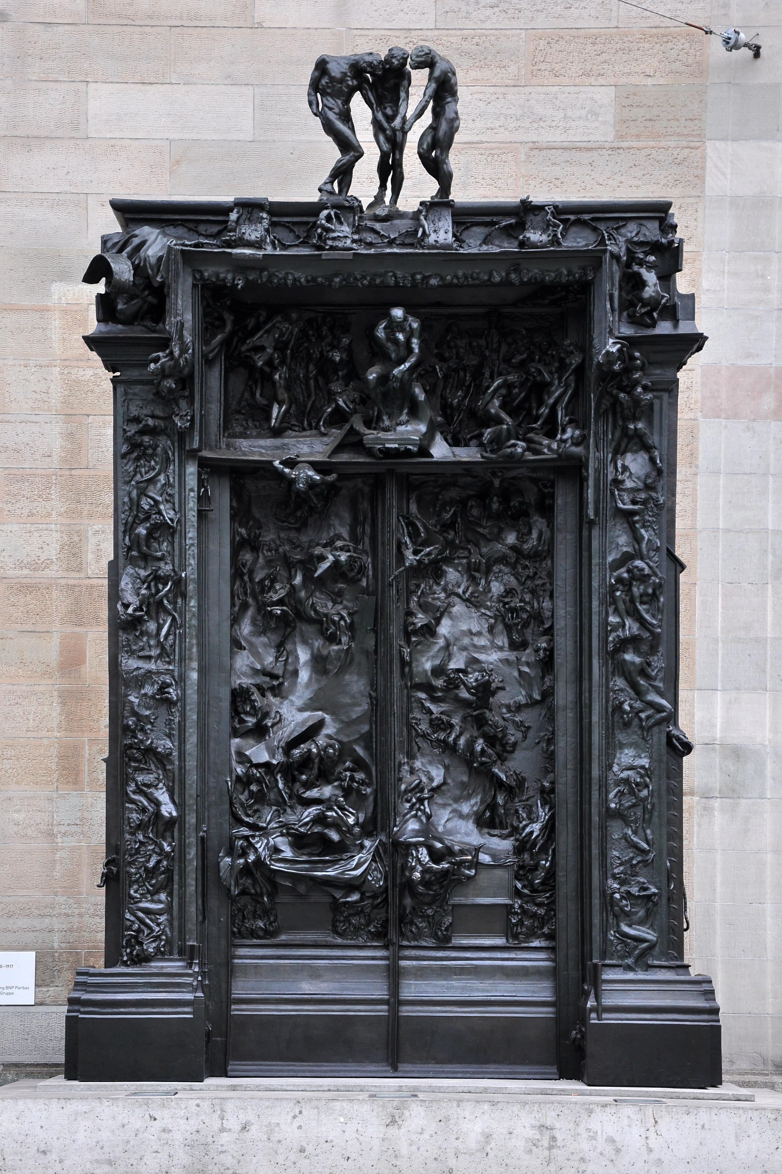 File la porte de l 39 enfer kunsthaus 2010 08 17 19 25 54 for 9 puertas del infierno