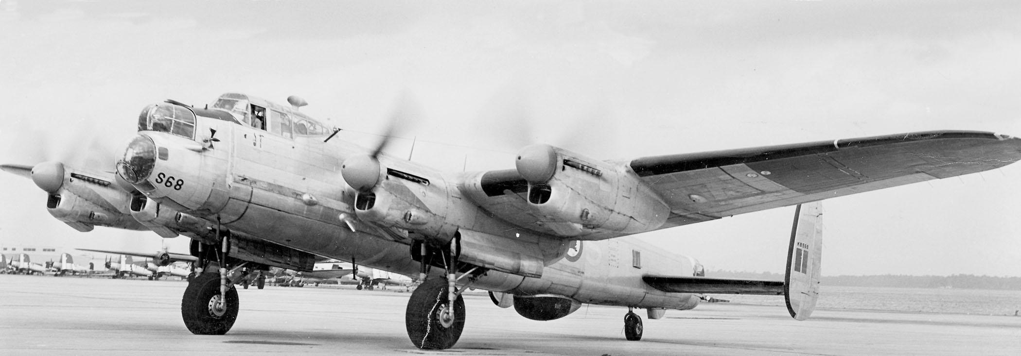 405quadronancaster10aritimeatrolaircraftinebruary1953