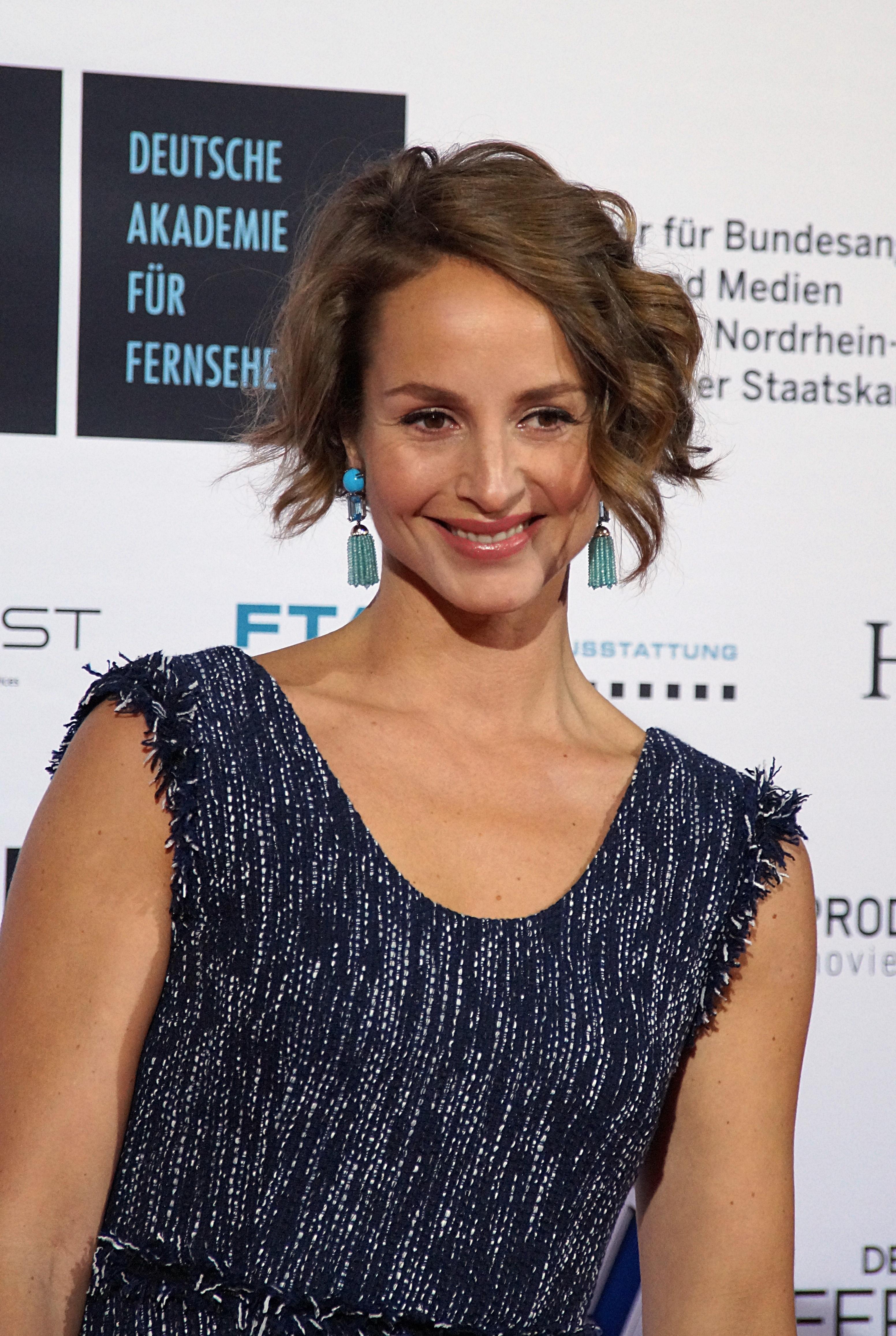 The 39-yaşında, 177 cm uzunluğunda Lara Joy Körner tarihli 2018 photo
