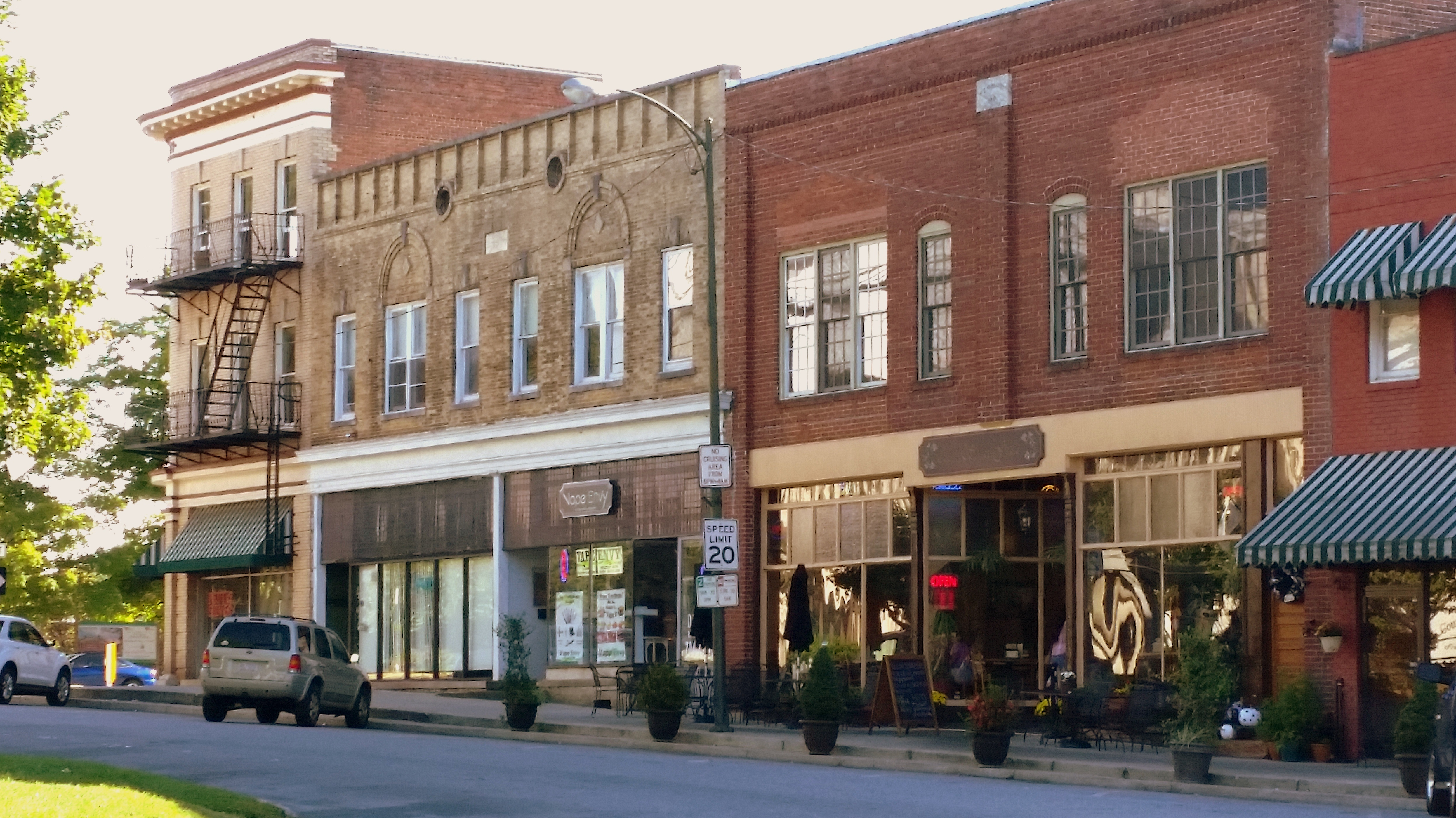 File Lincolnton Commercial Historic District Court Street