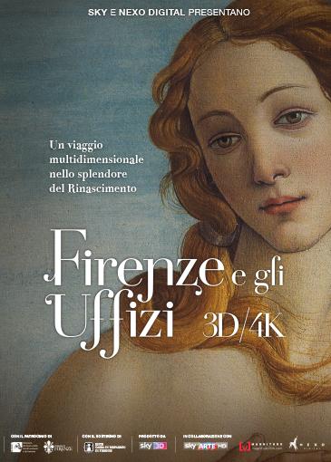 Locandina Firenze e gli Uffizi 3D 4K