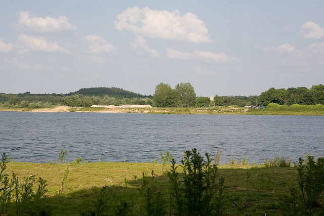 Looking across Ibsley Lakes from A338 - geograph.org.uk - 836678