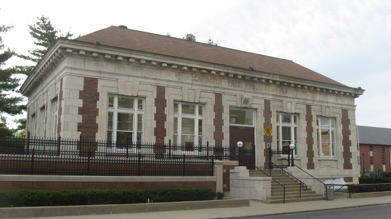 Louisville Free Public Library, Western Branch - Wikipedia