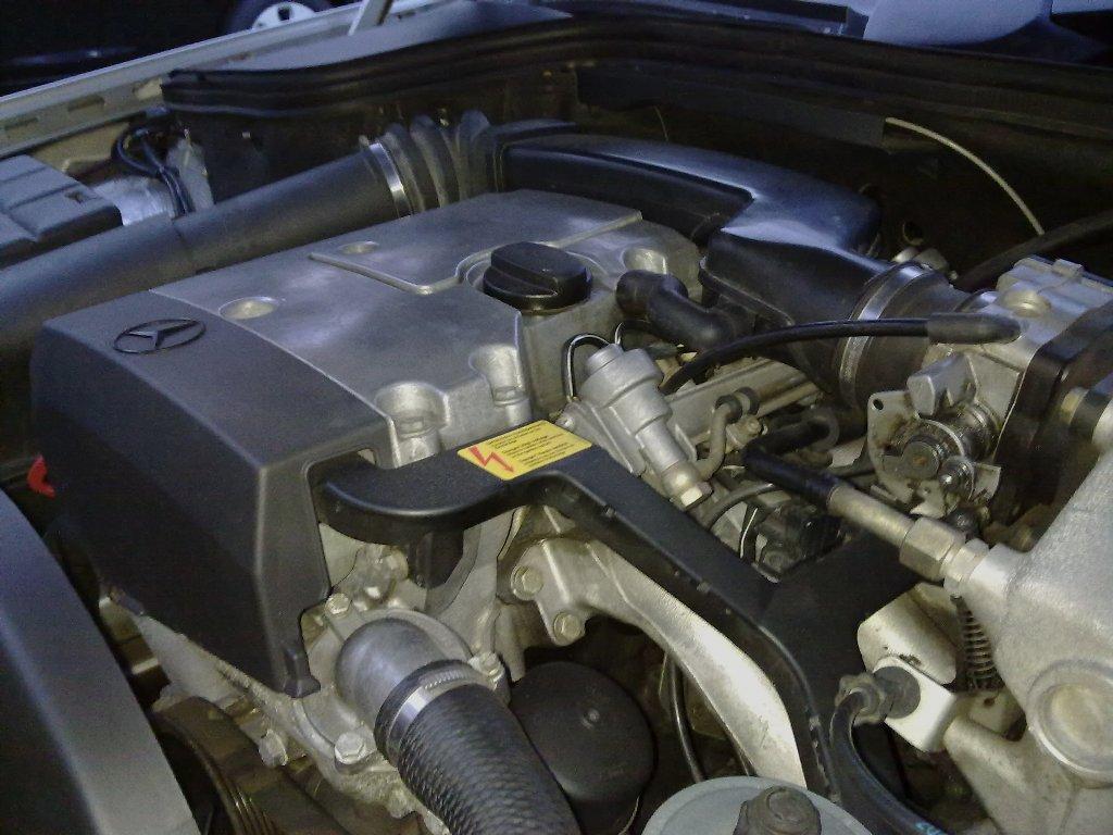 схема расположения термостата на м111 w210