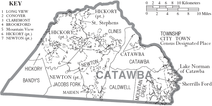 Map_of_Catawba_County_North_ ...catawba county