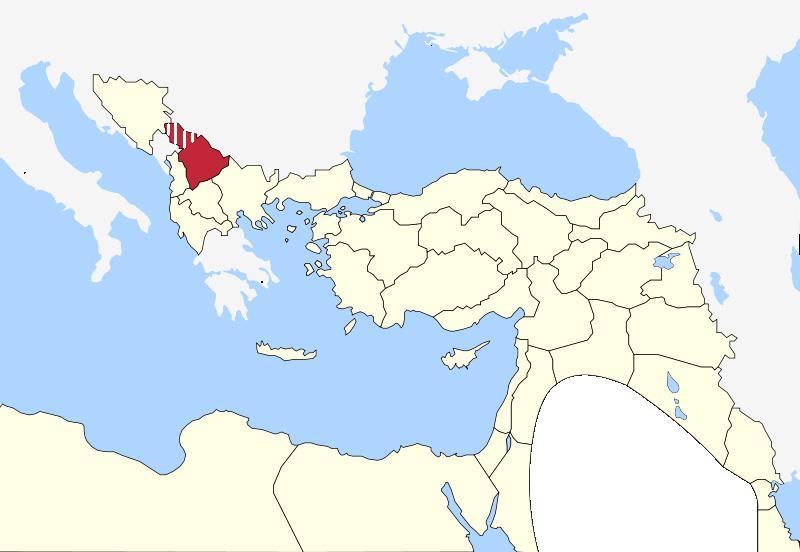 Kosovo Vilayet 1900