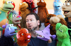 Marcus Clarke (puppeteer) British puppeteer and voice actor