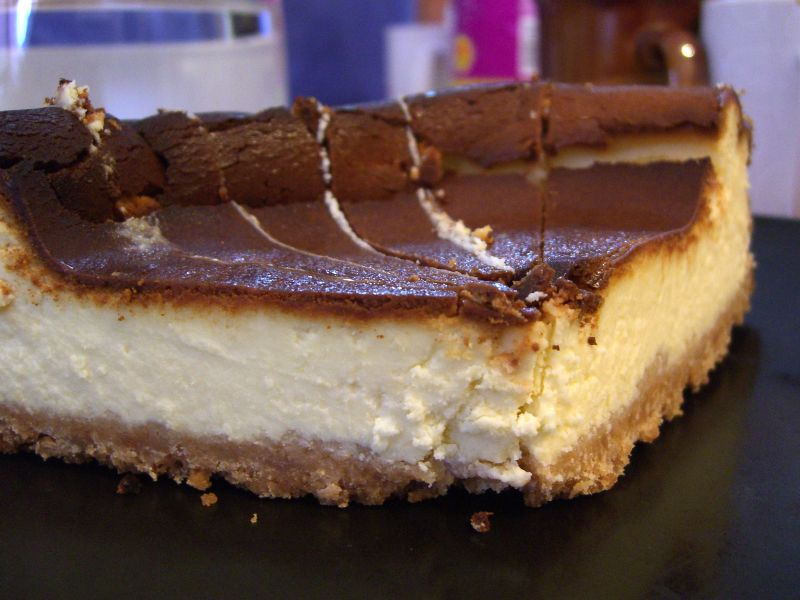 Mei's White Chocolate Cheesecake