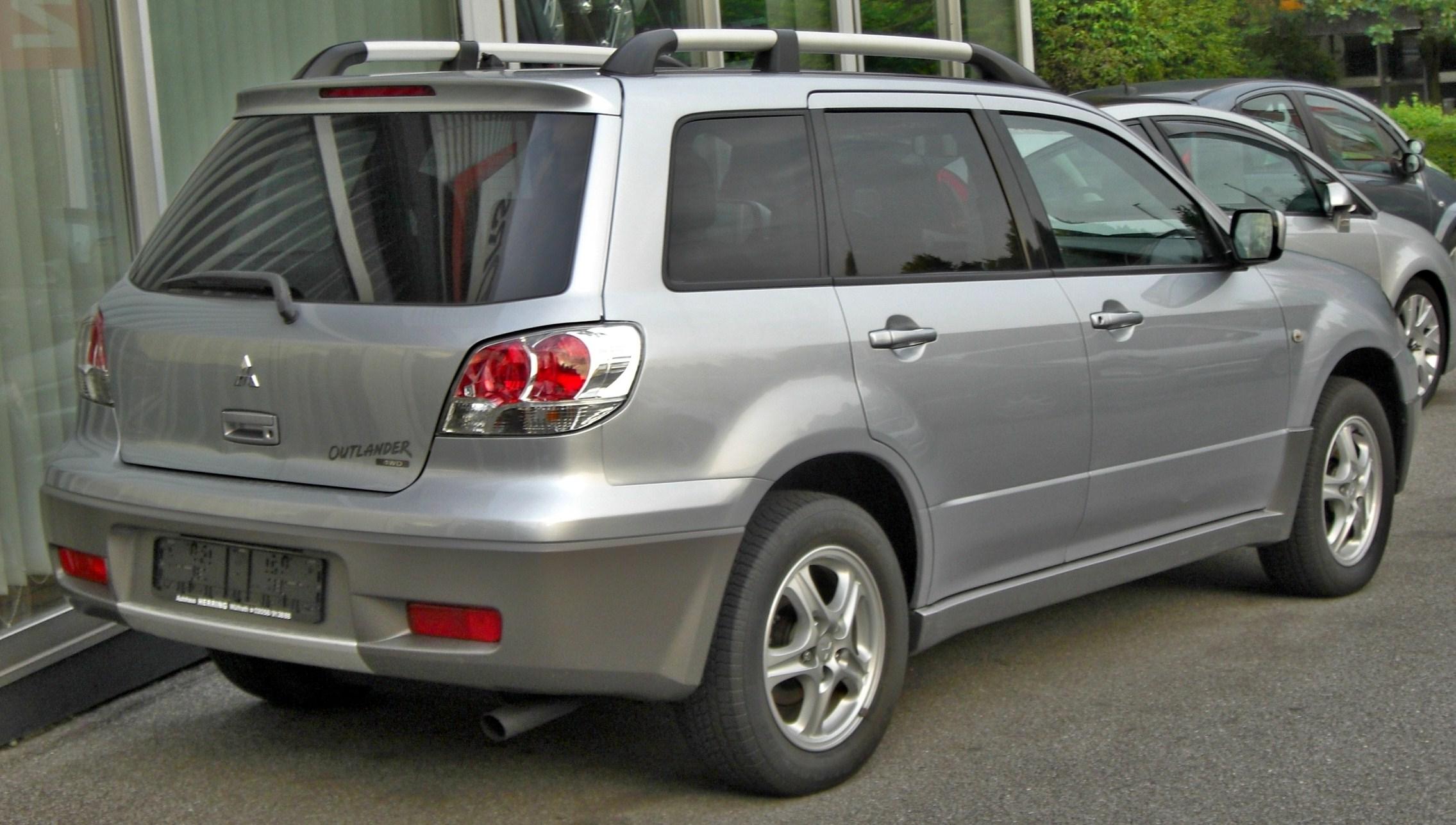 File Mitsubishi Outlander I 2003 2006 Rear Jpg