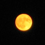 The Moon as seen in Hockessin, Delaware.